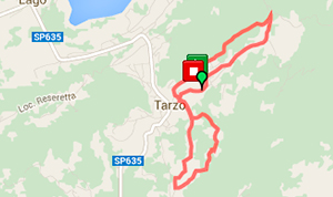Trail running Tarzo
